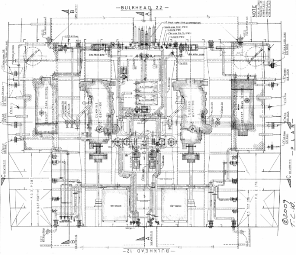 engine room layout